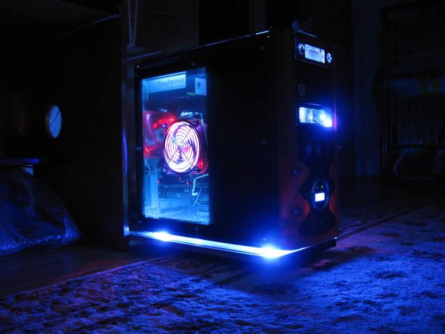 Светодиодная лента компьютера своими руками 63